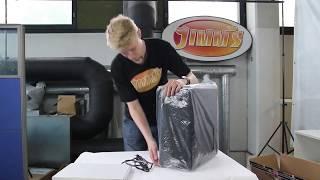 Jimm's Gamer pelitietokoneen käyttöönotto / unboxing and first boot
