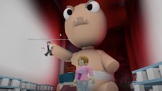 Roblox Escape The Giant Baby With Molly!