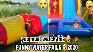TRY NOT TO LAUGH🤣 Funny Impressive Water Fails 🤣 Funny Fails Videos compilation 2020 #waterfails