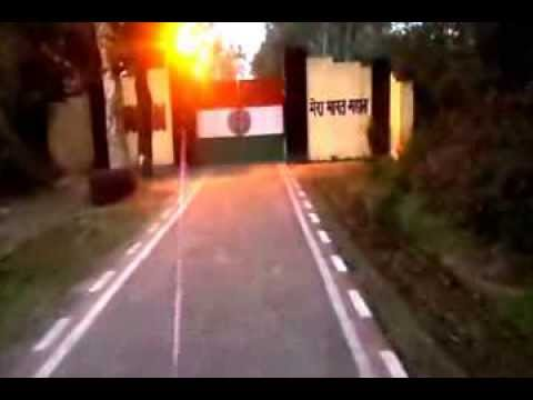A Visit to Indo-Pak border at Suchetgarh, RS Pura, Jammu
