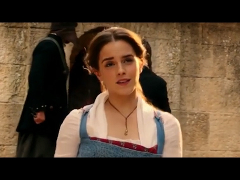 "Emma Watson SINGS ""Belle"" In New Beauty And The Beast Clip"