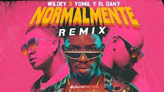 WILDEY ❌ YOMIL Y EL DANY Normalmente REMIX (Audio Oficial) Reggaeton Repartero  Reggaeton Reparto