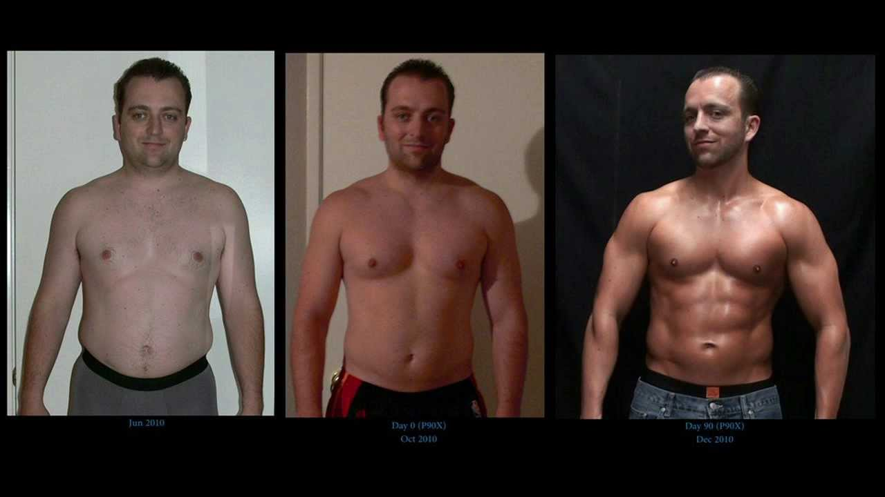 David's P90X Results - Symbiotic Fitness & Fit For Life Challenge