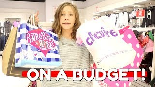 BLACK FRIDAY SHOPPING ON A BUDGET! ft Annie Rose