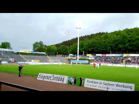 Sportfreunde Siegen Aufstieg in Regionalliga West