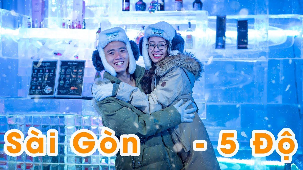 Nơi Duy Nhất Ở Sài Gòn Âm 5 Độ C Lạnh Buốt Óc – HP Ice Cafe Băng Đăng