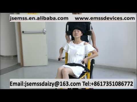 Electric stair climber chair multifunctional stretcher foldable wheelchair——RiHe