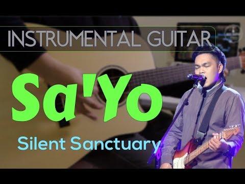 Silent Sanctuary  - Sa'yo Instrumental Guitar Karaoke Version Cover With Lyrics