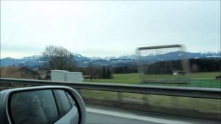 Дорога от Регенсбурга до Зёльдена