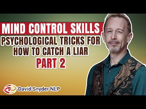 NLP LECTURE How To Catch A Liar Part 2