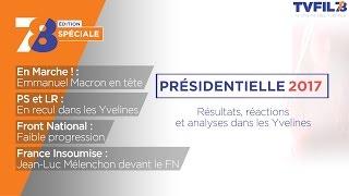 Edition spéciale – 1er tour de l'élection présidentielle dans les Yvelines