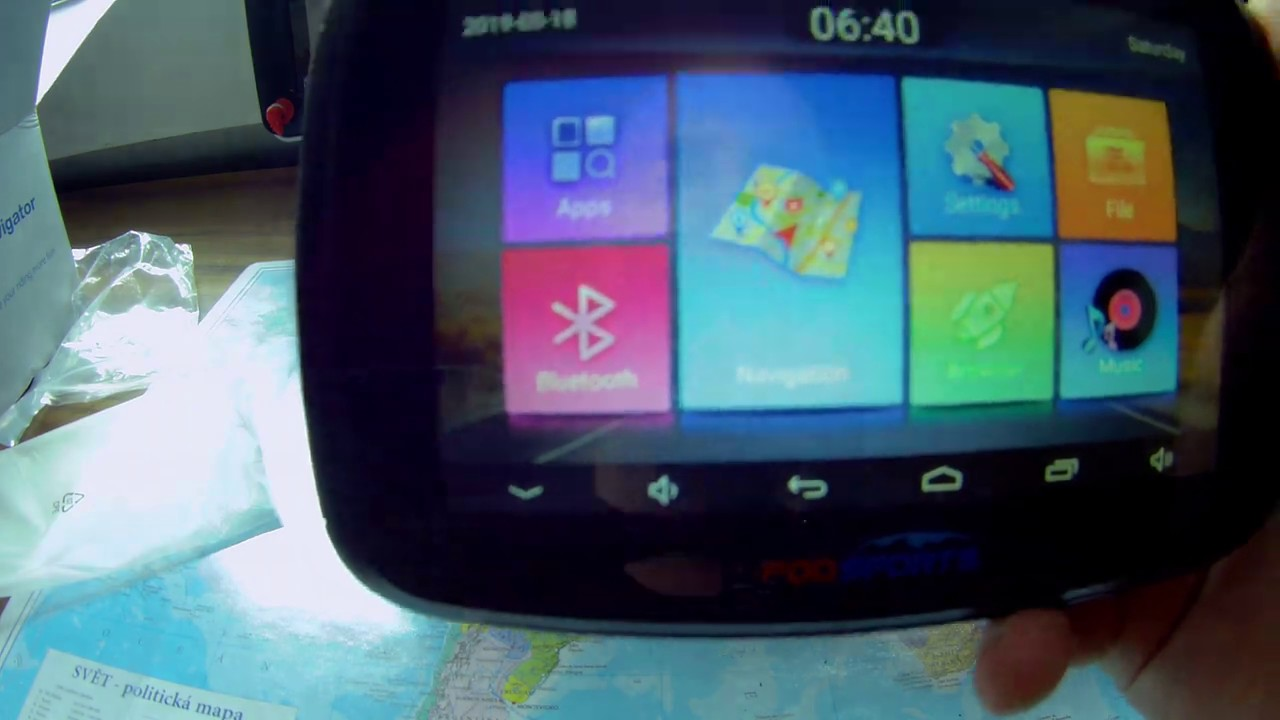 Fodsports Motorcycle Gps Navigation Review Part 1 Youtube