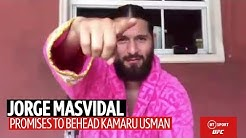 Jorge Masvidal sends chilling message to Kamaru Usman and talks UFC private island fights