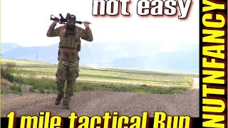 Can YOU Run a Mile in Full Tactical Gear?!