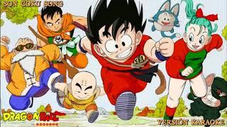 Dragon Ball Son Goku Song Versión Karaoke