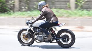 1978 Honda CX500 Cafe Racer Motorcycle That's Ready For the Apocalypse | Build Story