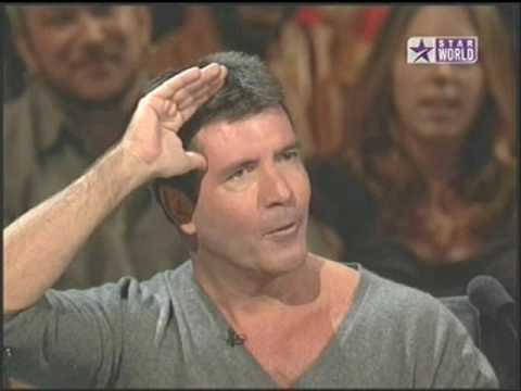 Simon Cowell's First Kiss