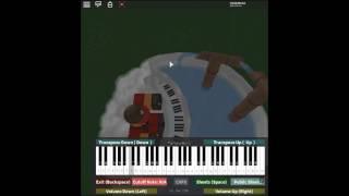 Airman ga Taosenai/I Can't Defeat Airman - Megaman 2 by: Team Nekokan on a ROBLOX piano.