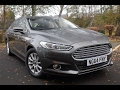 Used Ford Mondeo 2.0 TDCi ECOnetic Titanium 5dr Magnetic Grey 2015