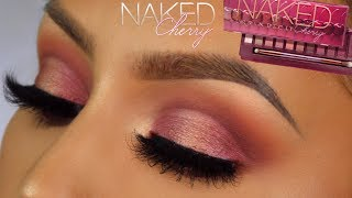 Urban decay naked cherry collection makeup tutorial l huda beauty concealer review