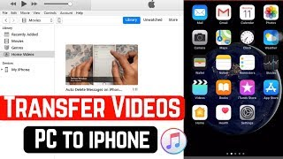 In this video I will show you how to transfer LARGE files from your iPhone to your PC (Win10). I don.
