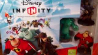 Disney Infinity Starter Pack Unboxing (Xbox 360)