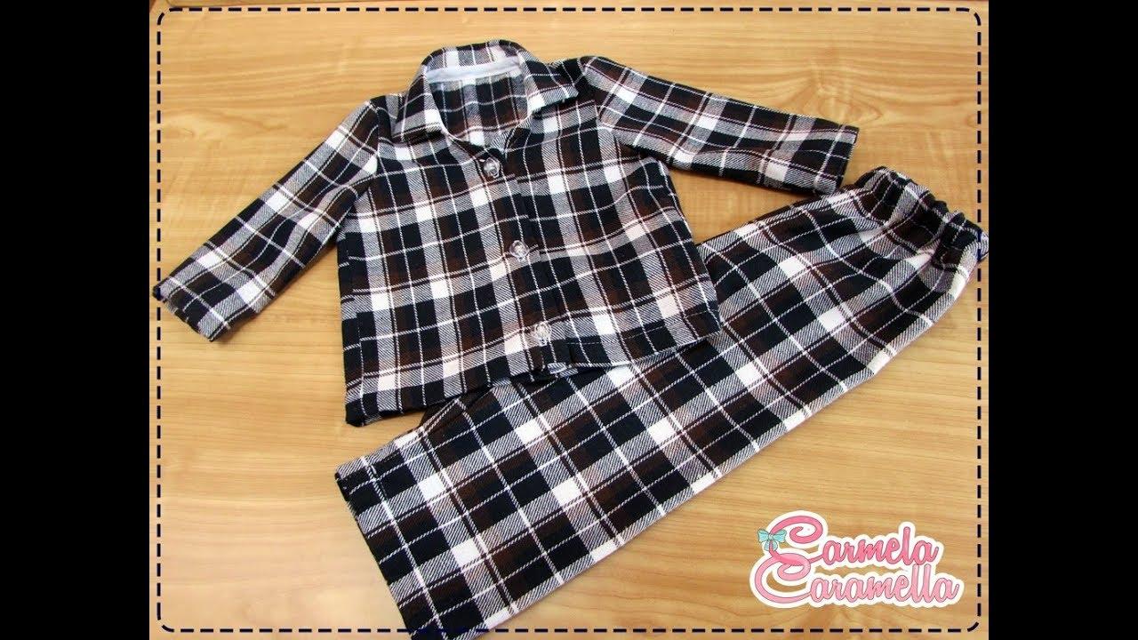 dee1cfcb01a Passo a passo Apostila Pijama Infantil - YouTube