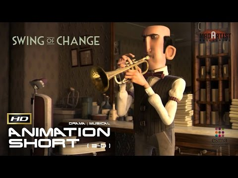 "CGI 3D Animated Short Film ""SWING OF CHANGE"" Musical Animation by ESMA"