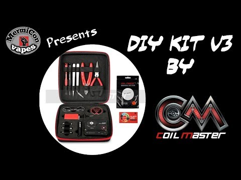 "Coil Master DIY Kit V3 ""Ελληνική Παρουσίαση""  ""Greek review and tutorial"""