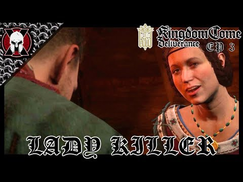 ESCAPE! AND HENRY'S A LADY KILLER! [ KINGDOM COME: DELIVERANCE PLAYTHROUGH ] EP 3