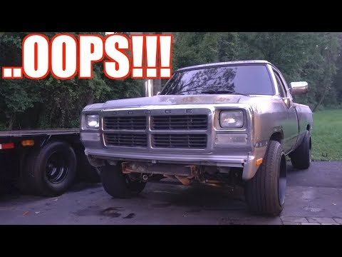 NEGLECTING THE 1ST GEN 12V CUMMINS!! WHY?? THIS IS EMBARRASSING TO ADMIT!!!