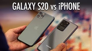 Galaxy S20 vs. iPhone — From the Android Expert!