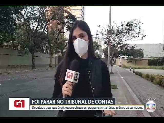 TV Globo (TCE-MG é acionado por atrasos de pagamentos de férias-prêmio)
