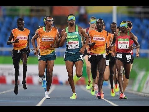 Athletics | Men's 5000m T11 Final | Rio 2016 Paralympic Games