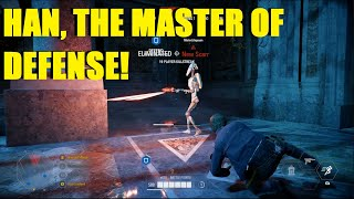 Star Wars Battlefront 2 - Han Solo saves his Mother in Law's Palace! Han Solo cholo Killstreak!