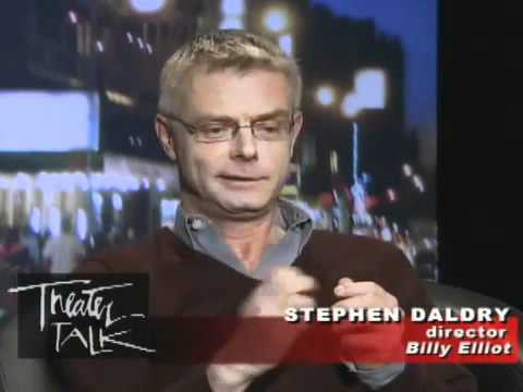 "Theater Talk: Stephen Daldry on ""Billy Elliot"", Aaron Riccio reviews ""Blasted"""