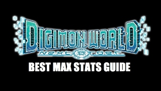 Digimon World Next Order - Max Stats Tutorial Guide - How To Get Max Stats In Rookie Form!