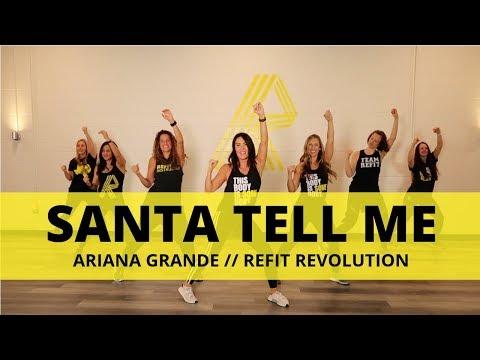 """Santa Tell Me"" || Ariana Grande || Cardio Dance || REFIT® Revolution"