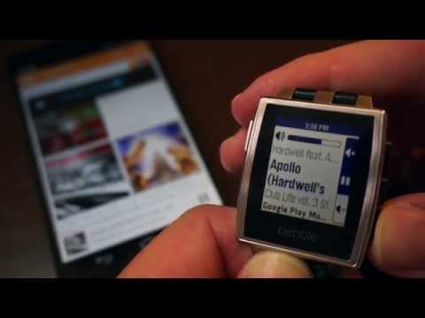 Music Boss for Pebble - Feature Overview