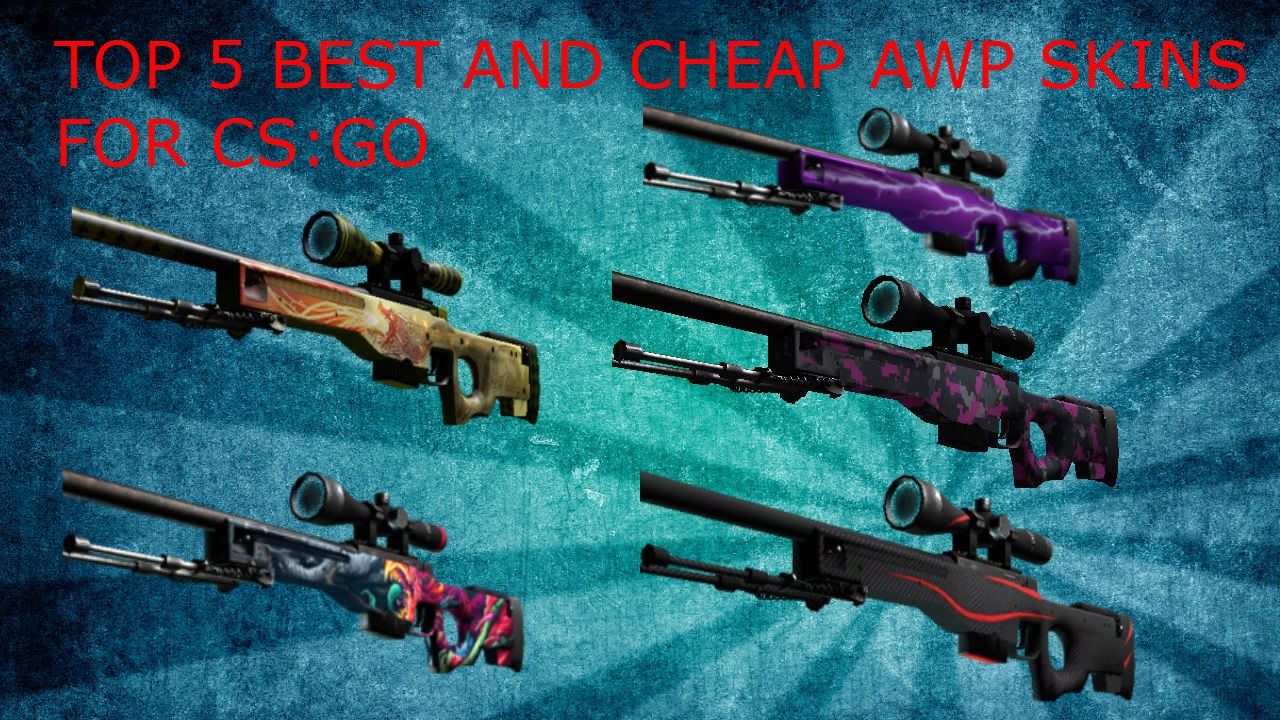 top 5 best but cheap awp skins for cs go youtube