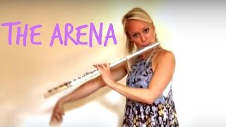 """Lindsey Stirling - """"The Arena"""" (cover by Bevani Flute)"""