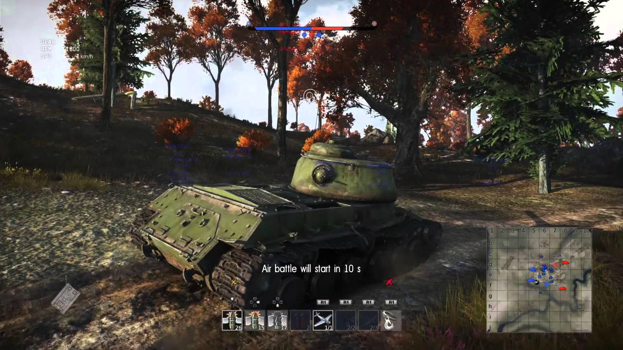 War Thunder' Hits PS4 June 3 With Ground Forces Expansion