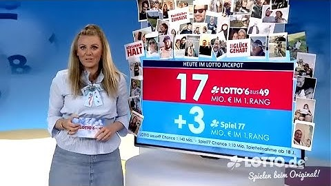 Ziehung der Lottozahlen vom 16.05.2020