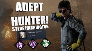 ADEPT TOILET CLEANER! | Dead By Daylight STEVE HARRINGTON Achievement