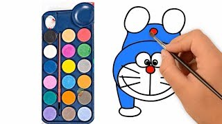 How to Draw Crazy Doraemon Coloring Pages | Drawing for Kids & Cartoon Coloring Books | colorsMA