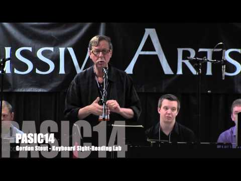 PASIC14 Highlights Gordon Stout and Leigh Howard Stevens Keyboard Lab & Master Class