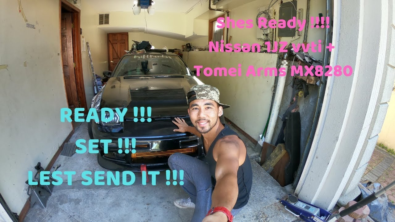 1jz vvti + Tomei Arms Turbo Nissan 240sx S13 Shes Ready Lest