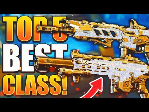 The 5 Best Classes in Black Ops 4 Right Now! (Best Class Setup)