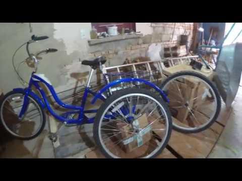 Минус трехколесного велосипеда. Ремонтопригодность