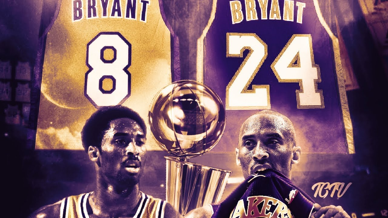 a2dcd3797 Kobe Bryant Jersey Retirement Tribute - YouTube